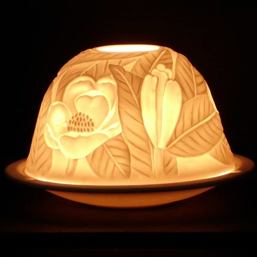 Nl Candle Shade - Floral