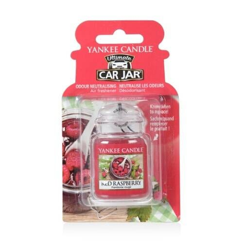 Yankee Candle Ultimate Car Jar Red Raspberry