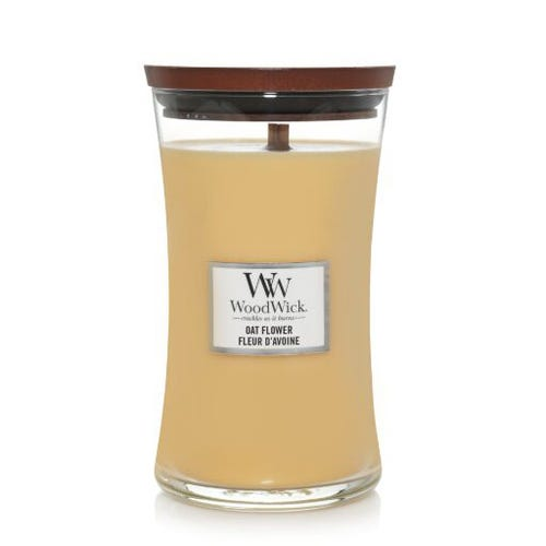WOODWICK large JAR OAT FLOWER