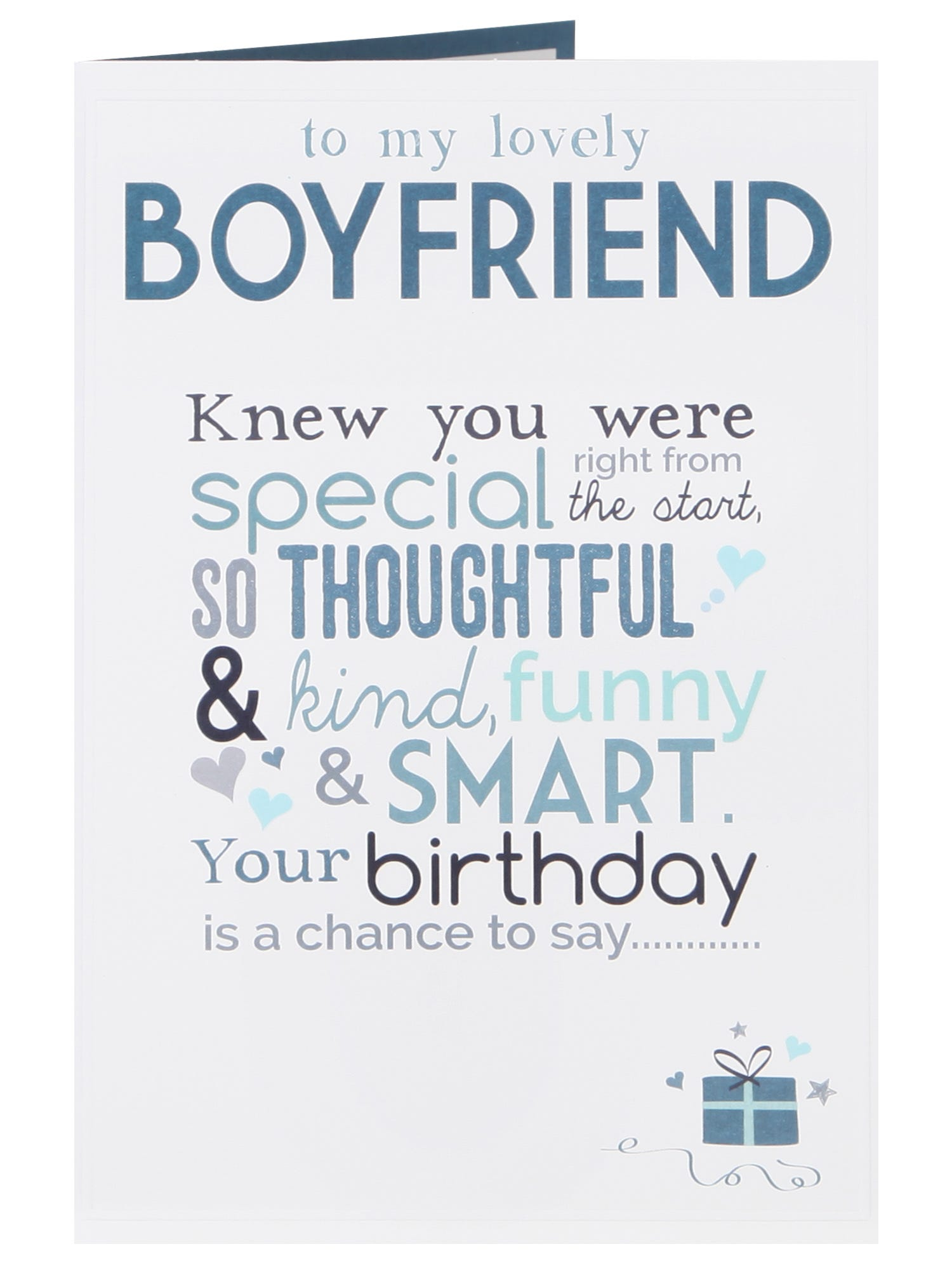 Ridiculously Lovely Boyfriend Birthday Card