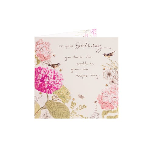 Clintons Collection Birds of Paradise Birthday Card