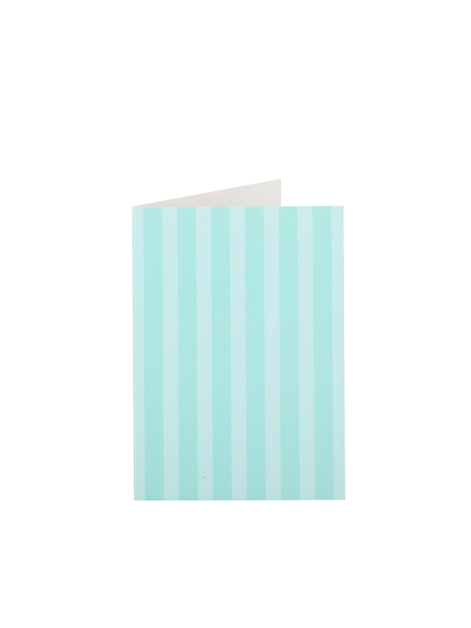 Teal Stripe Gift Tag