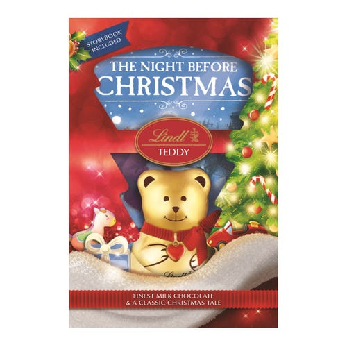 Lindt Chocolate Teddy & Book Gift Set 100g
