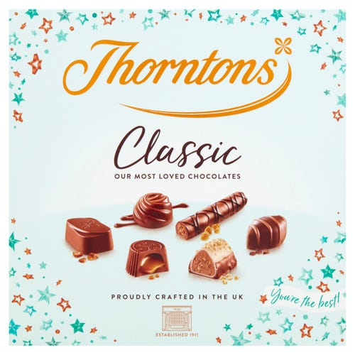 """Thorntons Classic Box 150g   """"You're the best"""""""