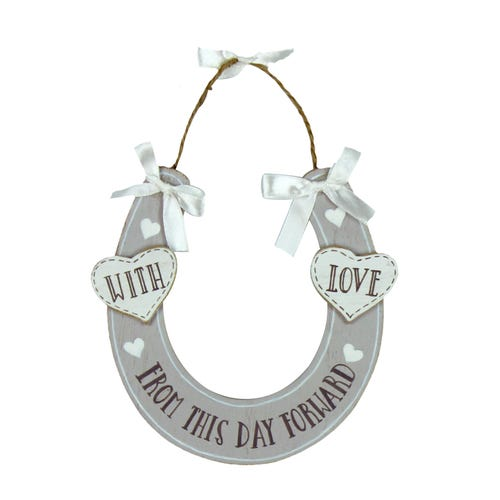With Love Horse Shoe