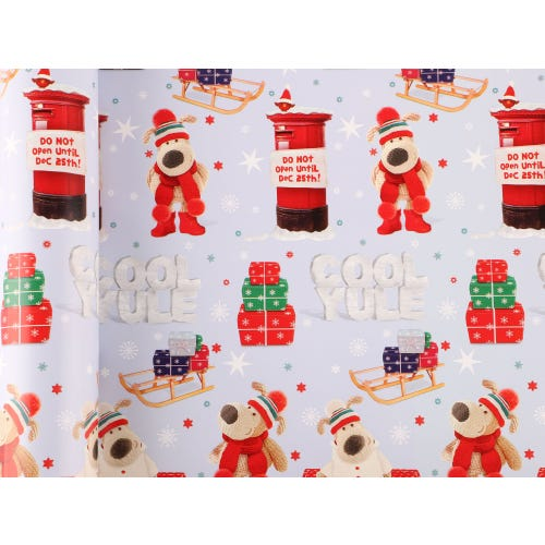CHRISTMAS BOOFLE 4M ROLL WRAP