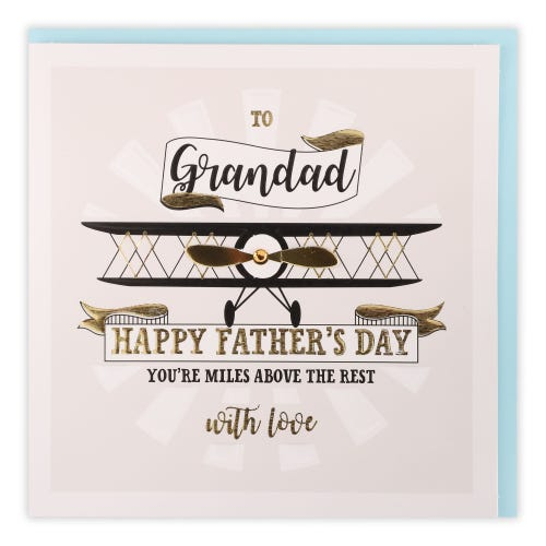 Grandad Talking Pictures Father's Day Card