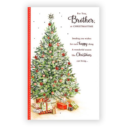 For You, Brother Christmas card