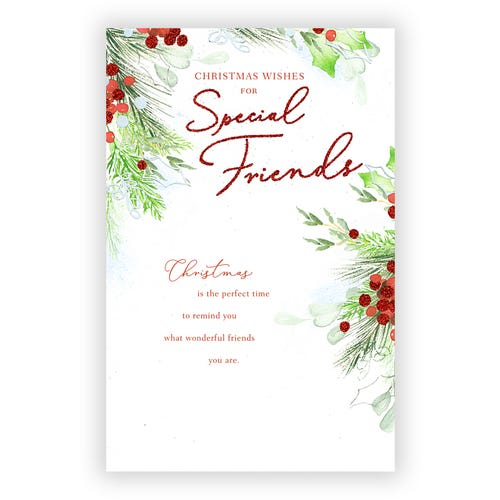 Christmas Wishes for Special Friend Card