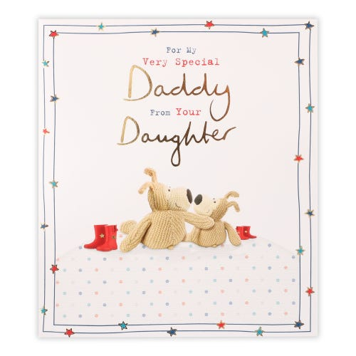 Daddy From Daughter Boofle Father's Day Card