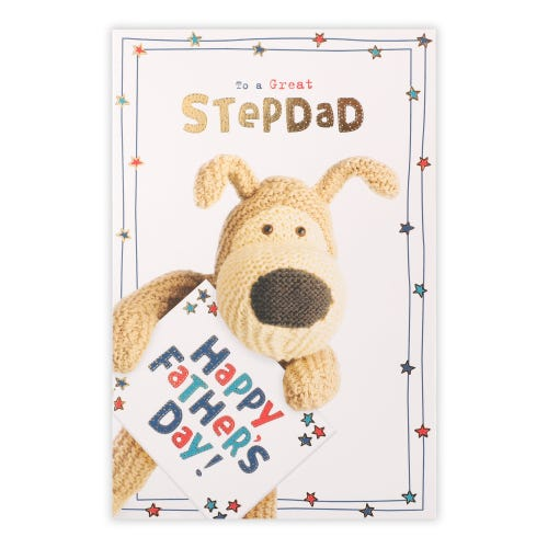Step Dad Boofle Father's Day Card