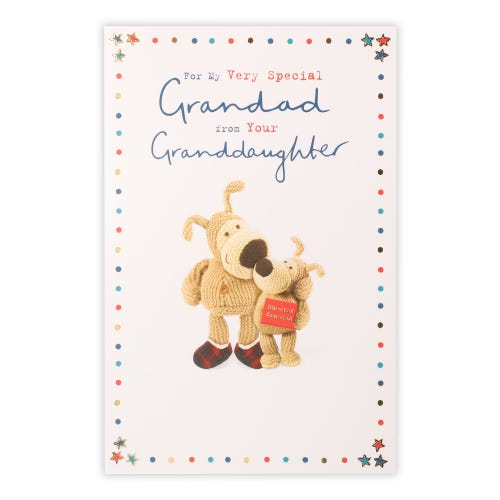 Grandad From Granddaughter Boofle Father's Day Card