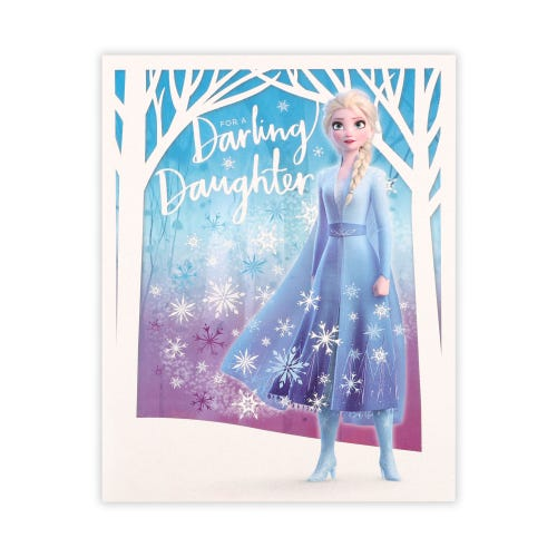 For A Darling Daughter Birthday Card