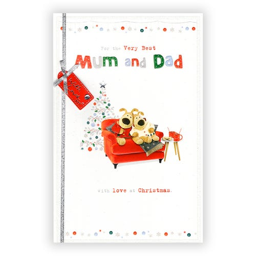 For the Very Best Mum and Dad Mum & Dad Christmas card