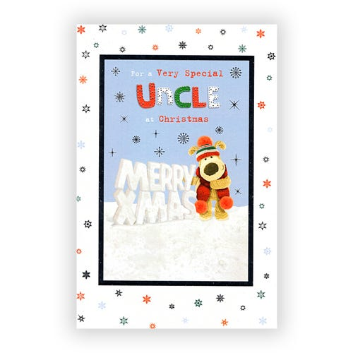 Very Special Uncle Christmas card