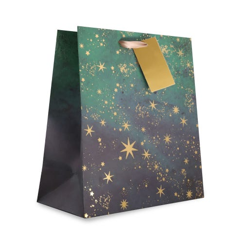 CHRISTMAS STAR CONSTELLATION MEDIUM BAG