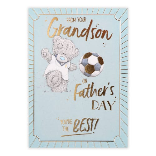 Me to You From Grandson Father's Day Card