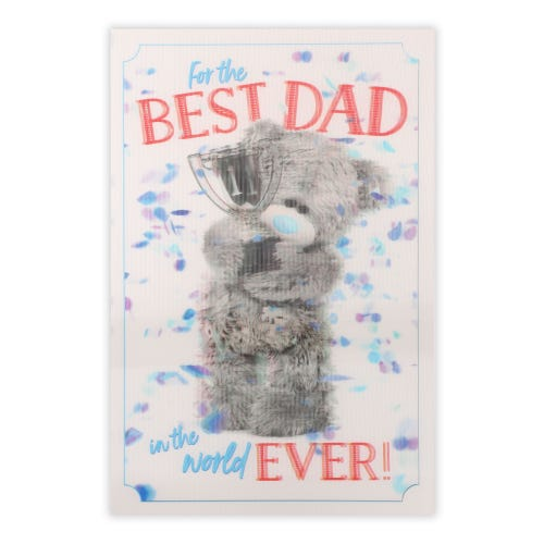 Me to You Dad Bear And Trophy Father's Day Card