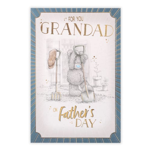 Me to You Grandad Father's Day Card