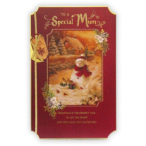 To A Special Mum Christmas card