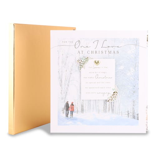 One I Love Christmas boxed card