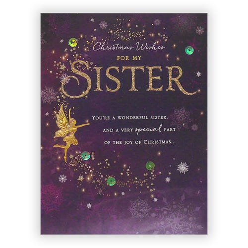 Sister Clintons Collection Christmas card