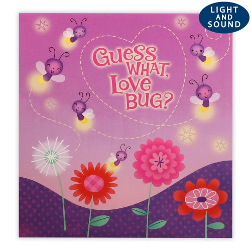 Guess What Love Bug Novelty Valentines card