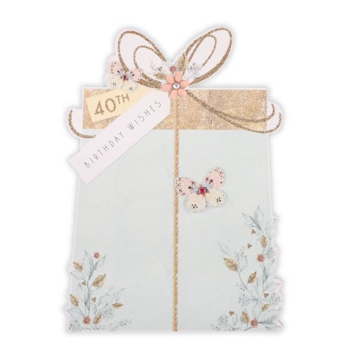 Butterfly Gift Birthday Card