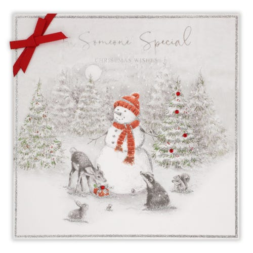Someone Special Christmas Wishes card