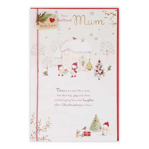 Two Of Us Characters Mum Christmas Card