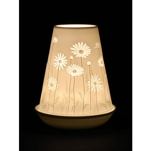 Nl Candle Shade - Ditsy Floral Cone
