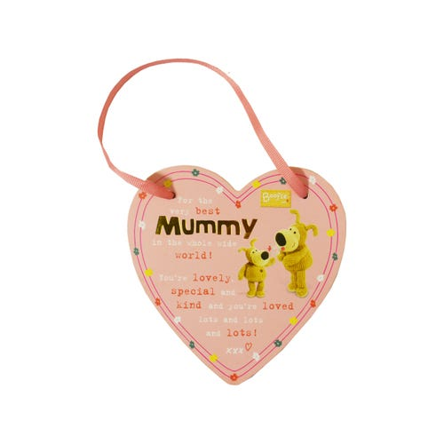 Boofle Mummy Heart Plaque