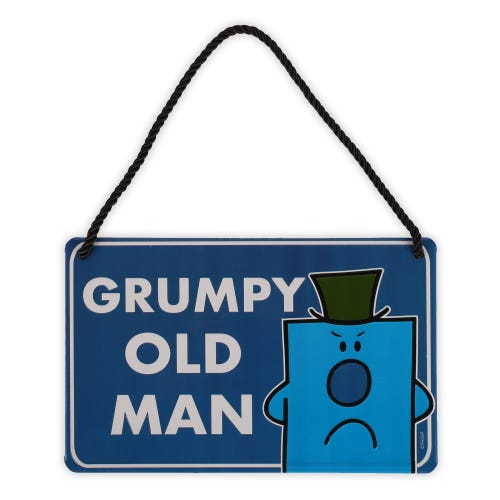 Mr Grumpy Plaque