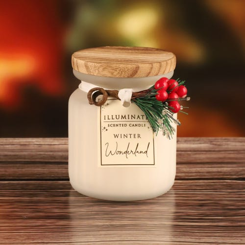 7OZ WINTER WONDERLAND CANDLE