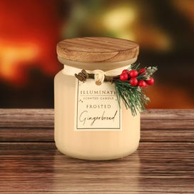 7oz Frosted Gingerbread Candle