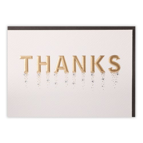 Embellished Thank You Thank You Card