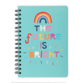 Future Is Bright A5 Wiro Notebook