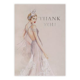 Roaring 20's Thank You, Pack Of 5