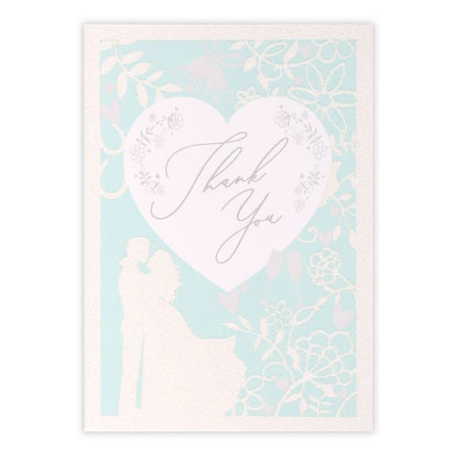 Fairytale Wedding Thank You Cards, Pack of 10