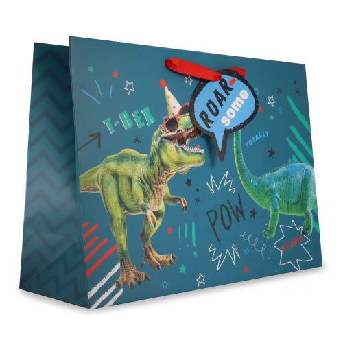 Dinosaur Roar-some Extra Large Gift Bag