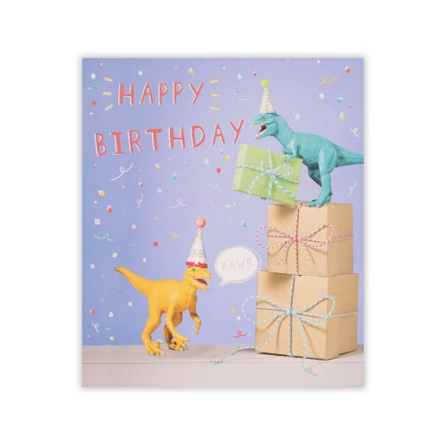 Simply Clintons Toy Dinos & Presents