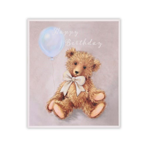 Simply Clintons Teddy Bear & Balloon