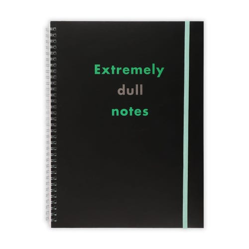 Extremly Dull Notes A4 Notepad