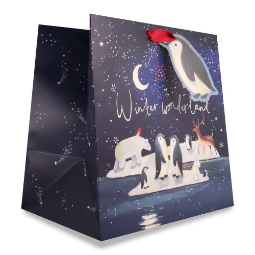 Penguins Square Bag