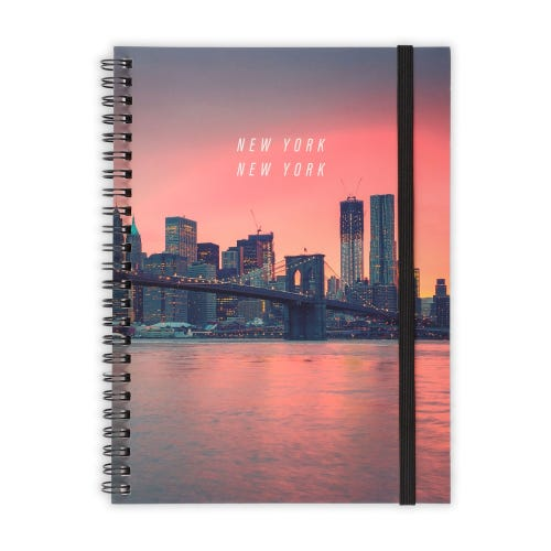 New York A5 Notepad