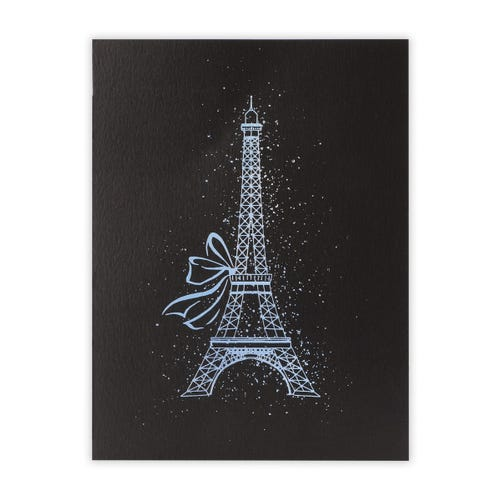 Frameable Art - Eiffel Tower Print 8X10