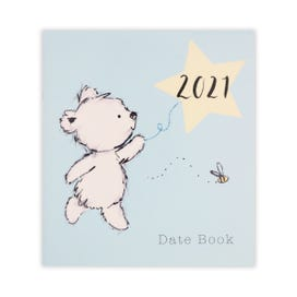 Cute Bear Large Datebook  2021