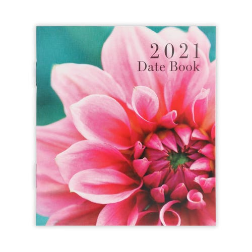 Photographic Flower Small Datebook  2021