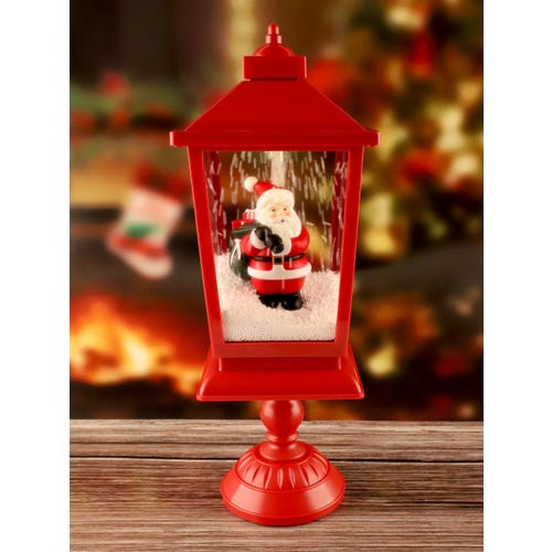 46 CM LED SANTA WITH MUSIC TABLE PIECE