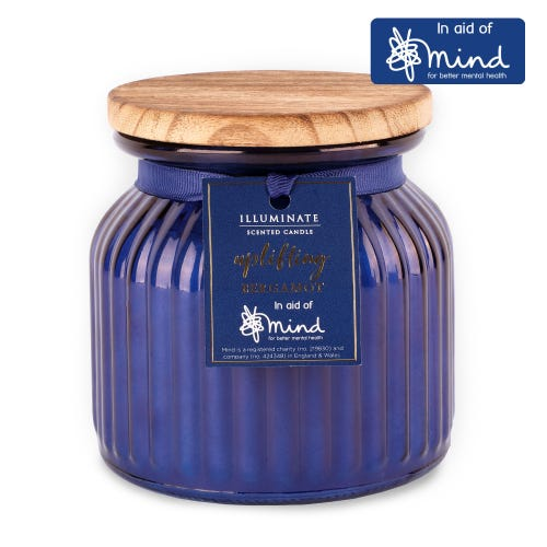 17oz MIND Uplifting Bergamot Illuminate Candle